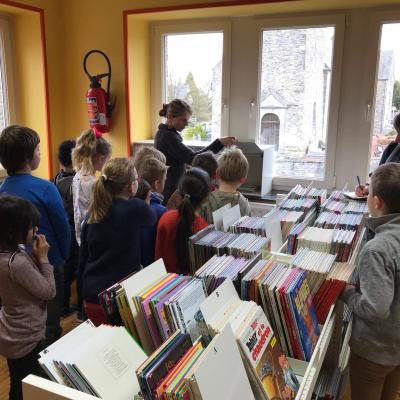 Visites à la bibliothèque de Hody